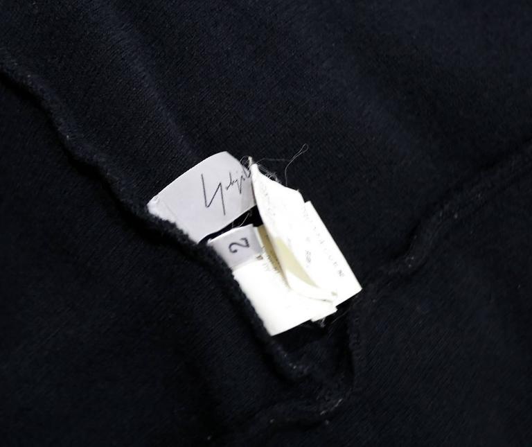 Yohji Yamamoto deconstructed denim jacket, c. 1990s For Sale 1