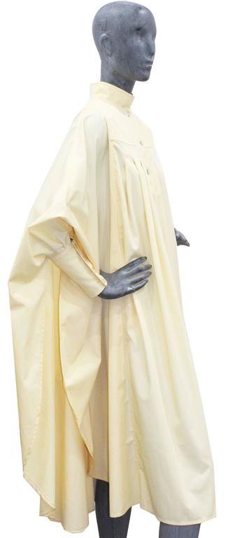 Bill Gibb ivory pleated opera coat, c. 1970s 2
