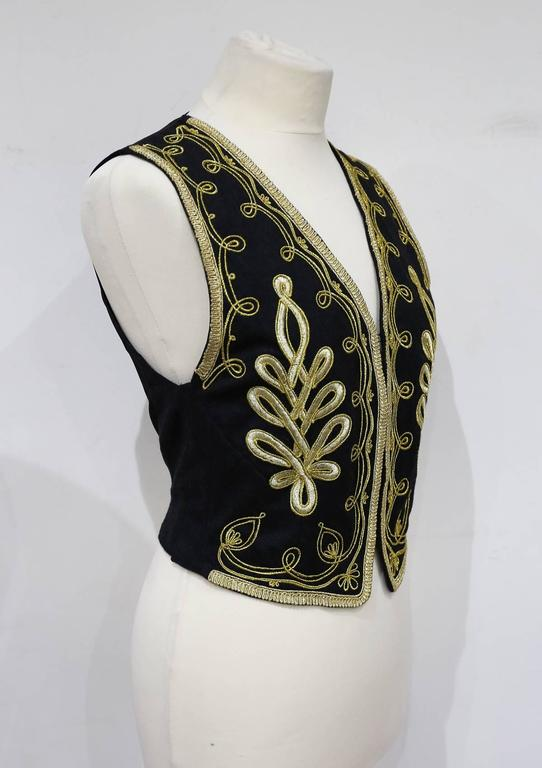 Kenzo embroidered evening waistcoat, c. 1980s 3