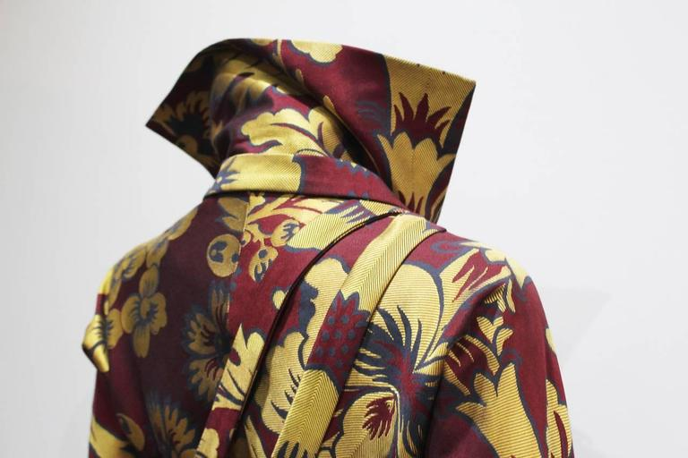 Vivienne Westwood silk brocade bondage jacket, c. 1994-96 3