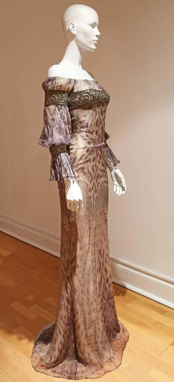 Alexander McQueen evening gown, Autumn-Winter 2004 4