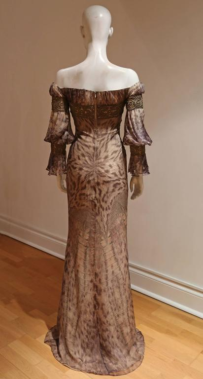 Alexander McQueen evening gown, Autumn-Winter 2004 5
