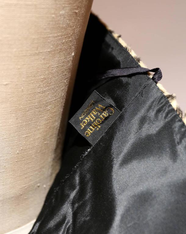 Caroline Walker leopard print strapless pin-up dress 5