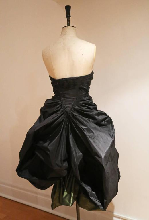 Alexander McQueen silk taffeta evening dress, witches collection A/W 2007 In Excellent Condition For Sale In London, GB