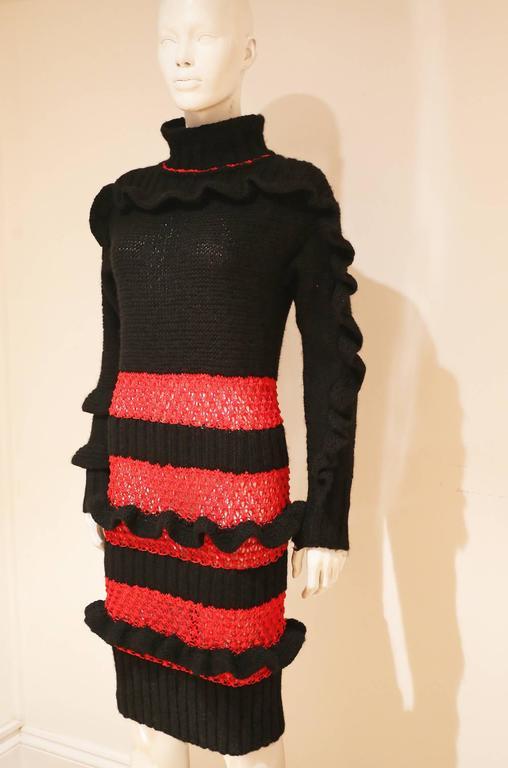 Bodymap knitted dress, Autumn-Winter 1985  2
