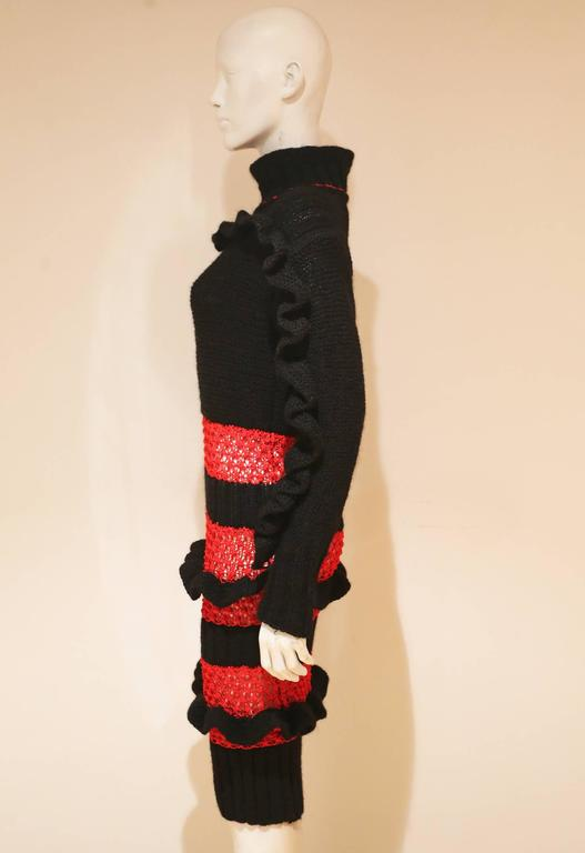 Bodymap knitted dress, Autumn-Winter 1985  3