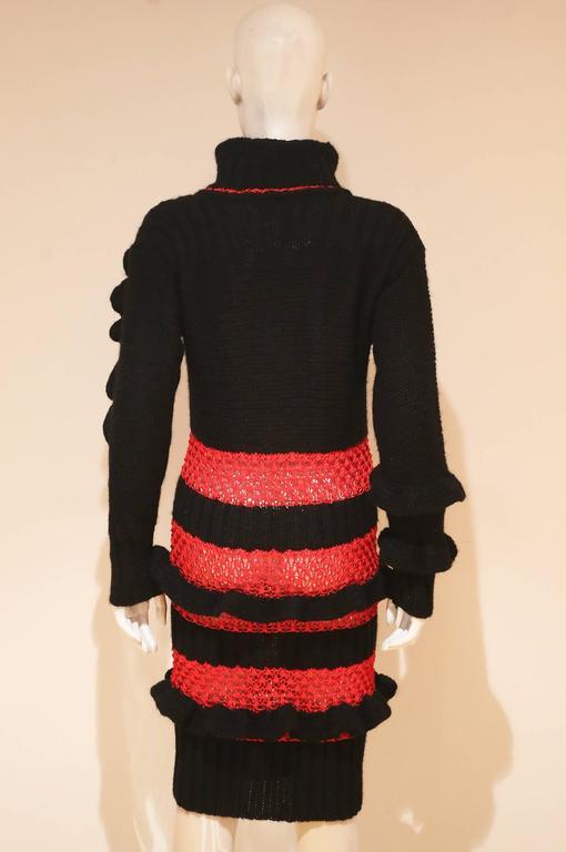 Bodymap knitted dress, Autumn-Winter 1985  4