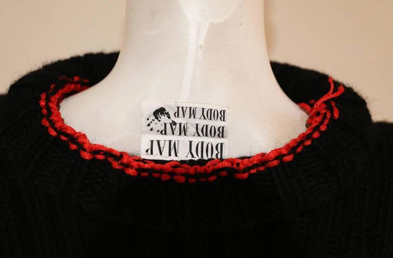 Bodymap knitted dress, Autumn-Winter 1985  5