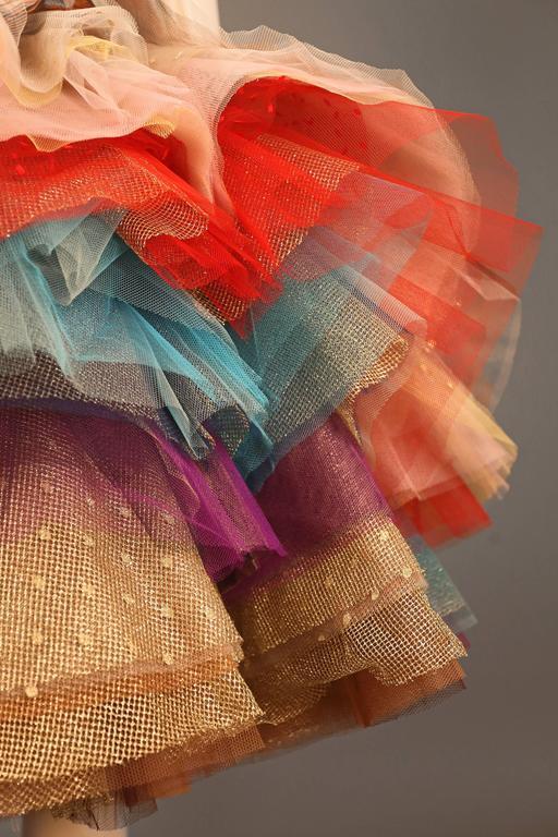 "Vivienne Westwood 'EXPLOSION"" tulle skirt, c. 1993 For Sale 1"