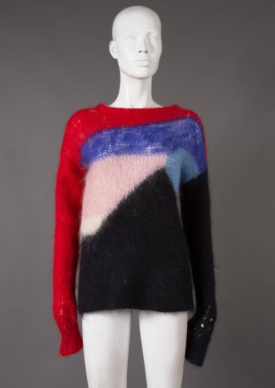 Malcolm McLaren and Vivienne Westwood SEDITIONARIES Mohair Sweater, C. 1976 6