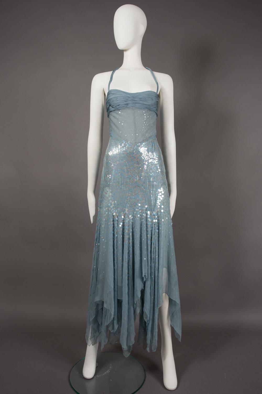 Atelier Versace Haute Couture Halter Neck Evening Dress