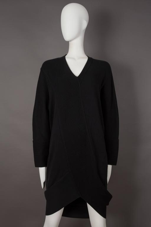 Issey Miyake ribbed knit sweater dress, circa 1980s 2