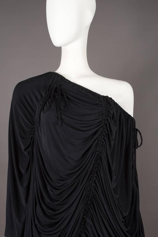 Dolce & Gabbana drawstring jersey mini dress, circa 2003 For Sale 4