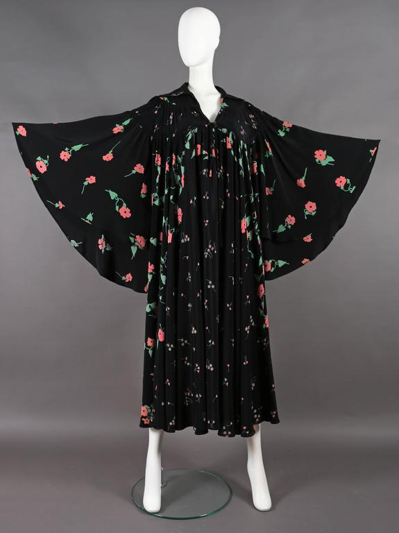 Ossie Clark 'Busy Lizzie' Angel Dress With Celia Birtwell print, circa 1972 2