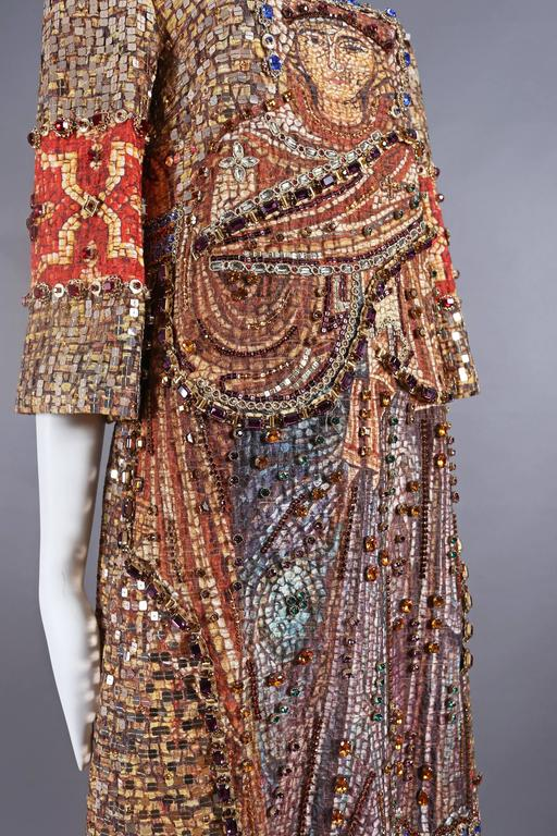Dolce & Gabbana mosaic embellished shift dress, circa 2013 9