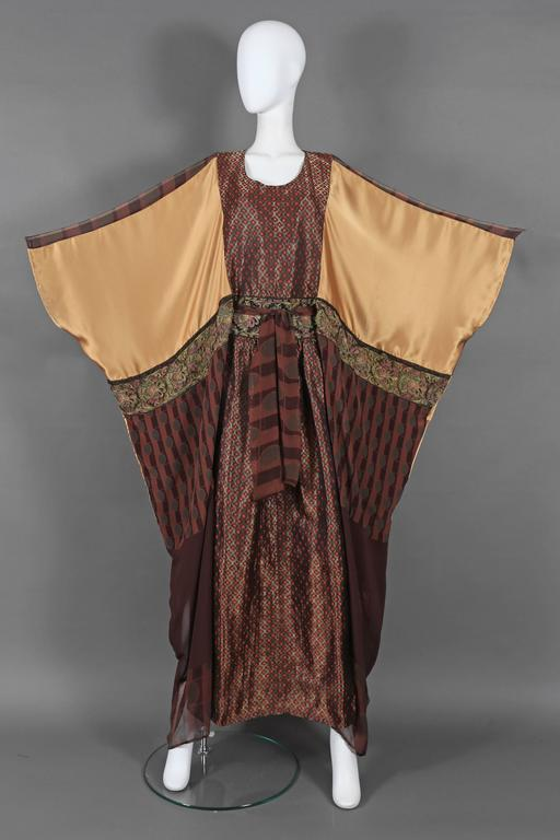 Thea Porter Couture brocade evening caftan, circa 1970s 2