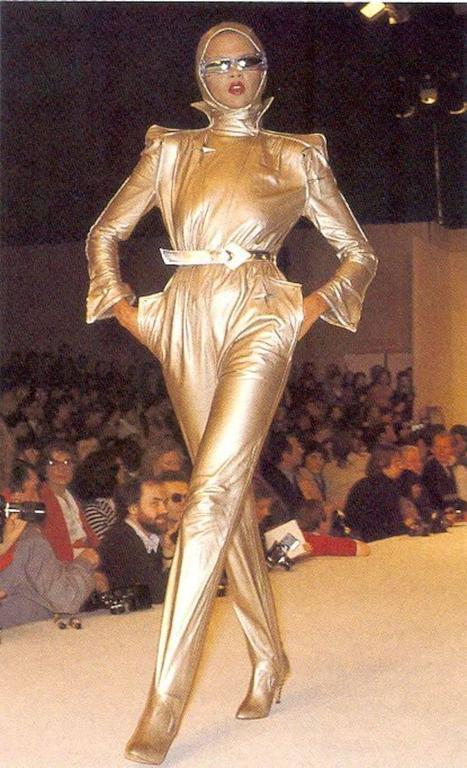 Thierry Mugler Galaxie Pearl Sunglasses, circa 1977-79 For Sale 3