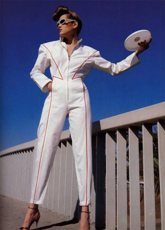 Thierry Mugler Galaxie Pearl Sunglasses, circa 1977-79 For Sale 2
