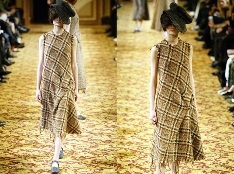 Junya Watanabe Comme des Garcons tweed dress, circa 2003 2