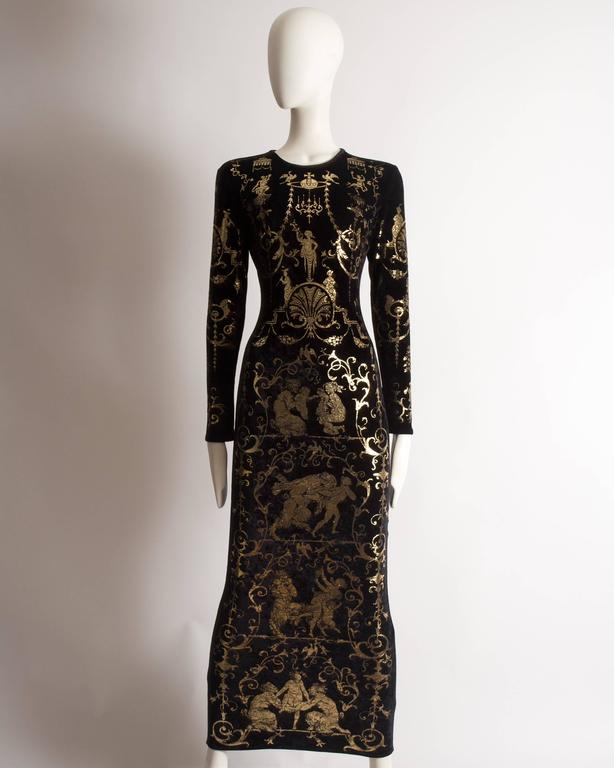 Vivienne Westwood 'Portrait Collection' Sheath Dress, Circa 1990 2