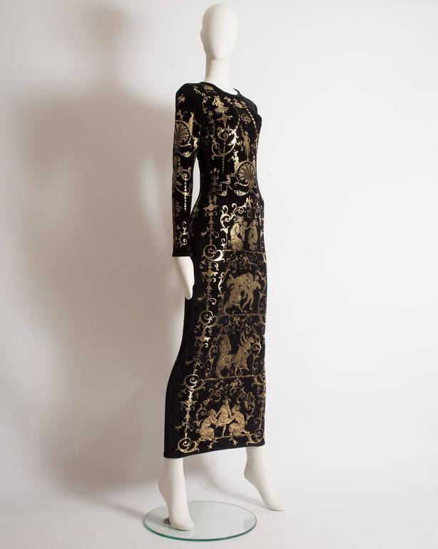 Vivienne Westwood 'Portrait Collection' Sheath Dress, Circa 1990 4