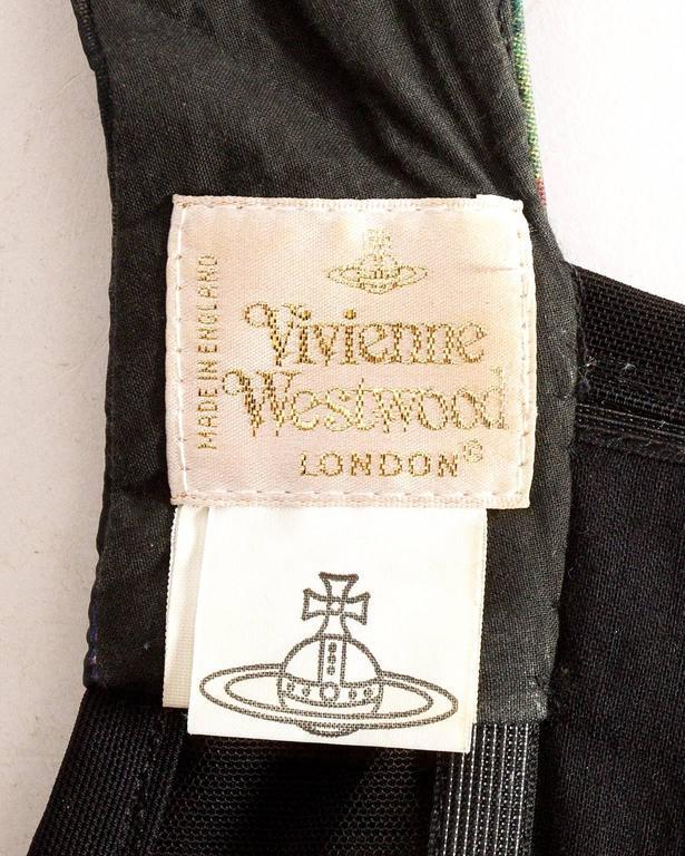 Vivienne Westwood  'Vive la Cocotte' floral print corset, AW 1995 For Sale 4