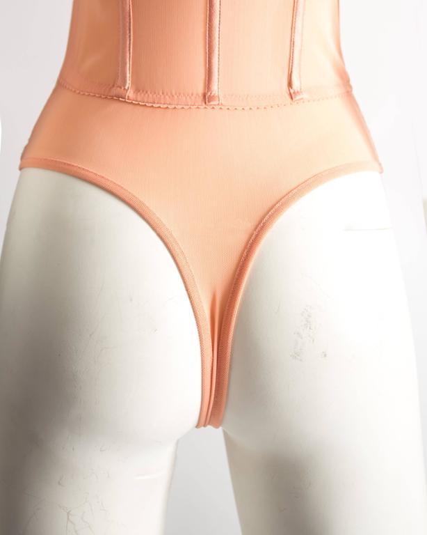 Alexander McQueen bias cut silk lingerie evening dress, Spring-Summer 2004 9