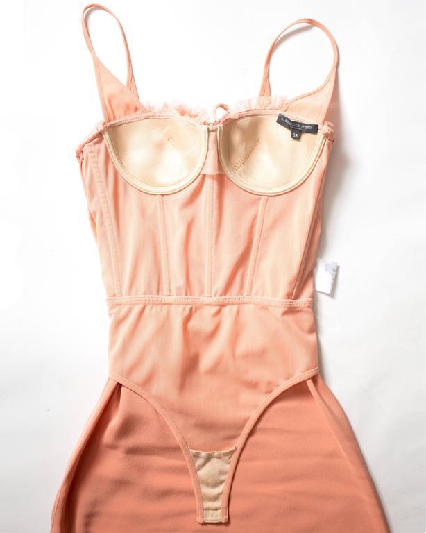 Alexander McQueen bias cut silk lingerie evening dress, Spring-Summer 2004 10