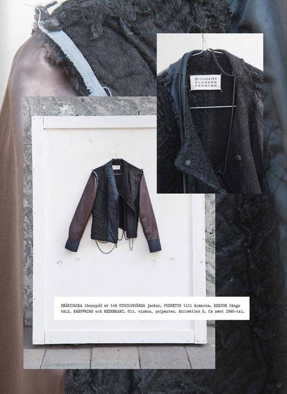 Maison Martin Margiela Autumn-Winter 2005 inverted jacket with metal chains  2