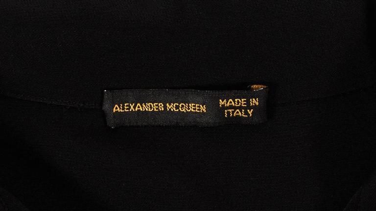 Alexander McQueen Autumn-Winter 1998 'Joan' beaded evening dress 10