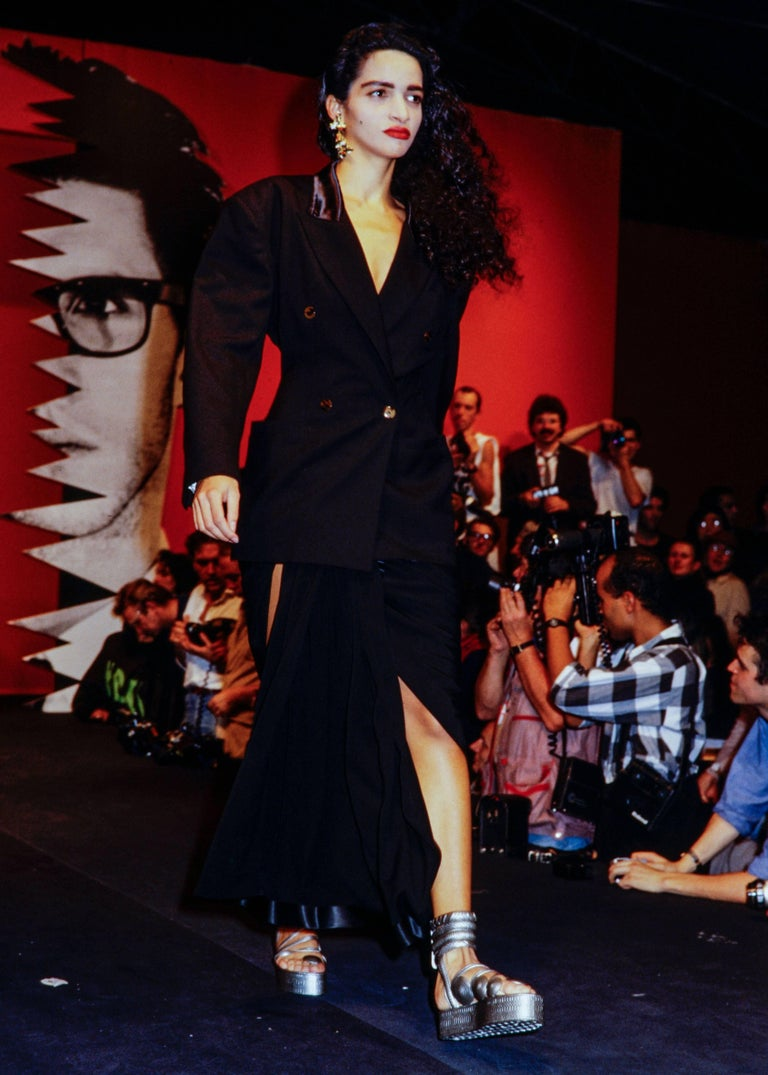 Jean Paul Gaultier Spring Summer 1985 Black Rubber