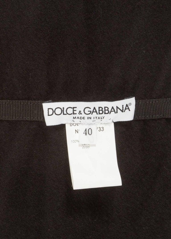 Dolce & Gabbana Spring-Summer1999embellished evening pants and corseted obi belt For Sale 2