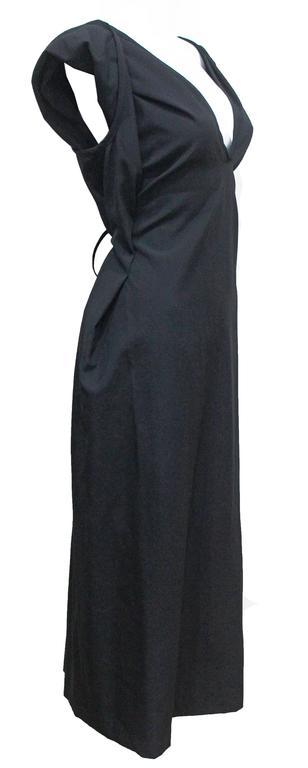 COMME des GARCONS black origami dress c. 1998 3
