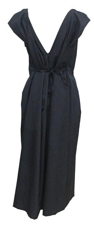 COMME des GARCONS black origami dress c. 1998 4