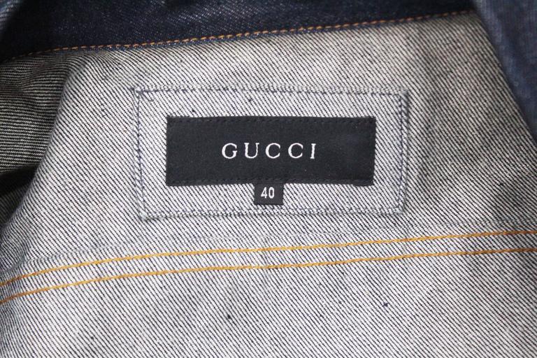 1990s Tom Ford for Gucci denim runway jacket, Spring/Summer 1998 6