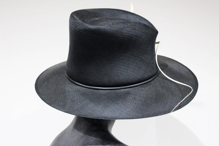 Philip Treacy Dress Hat In Excellent Condition For Sale In London, GB