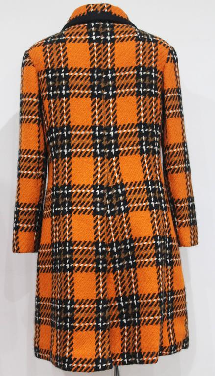 1960s English checked tweed tailored coat by Royal Dressmaker, Hardy Amies  5