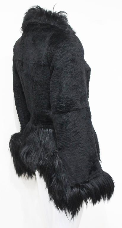 Women's Important Early Alexander McQueen fur jacket, 'Eshu' African Collection Fall 200 For Sale