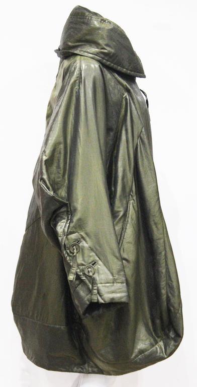 1990s Issey Miyake cocoon coat  3