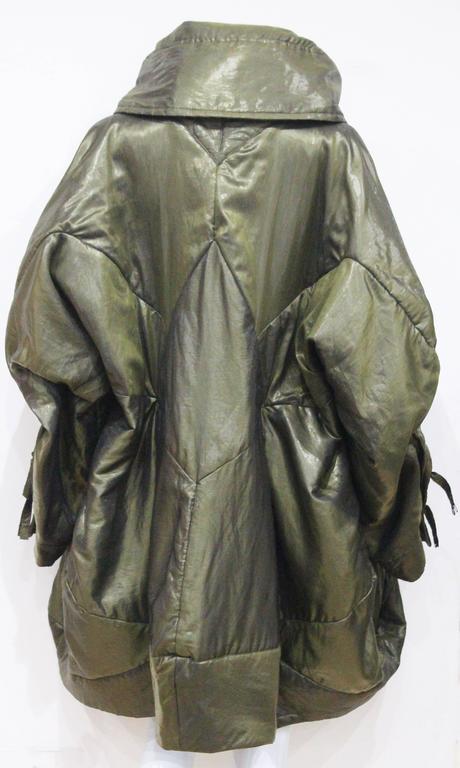 1990s Issey Miyake cocoon coat  5