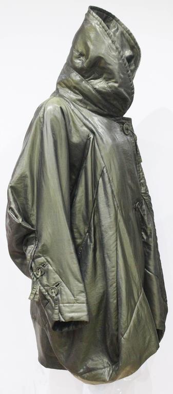 1990s Issey Miyake cocoon coat  6