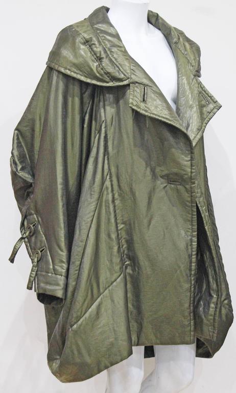 1990s Issey Miyake cocoon coat  7