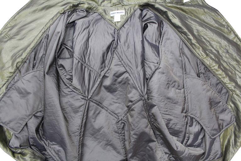 1990s Issey Miyake cocoon coat  8
