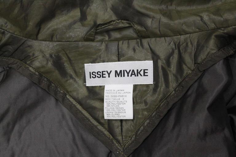 1990s Issey Miyake cocoon coat  9