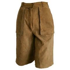 CAUMONT Paris light brown shorts Bermuda pants - Unworn, New