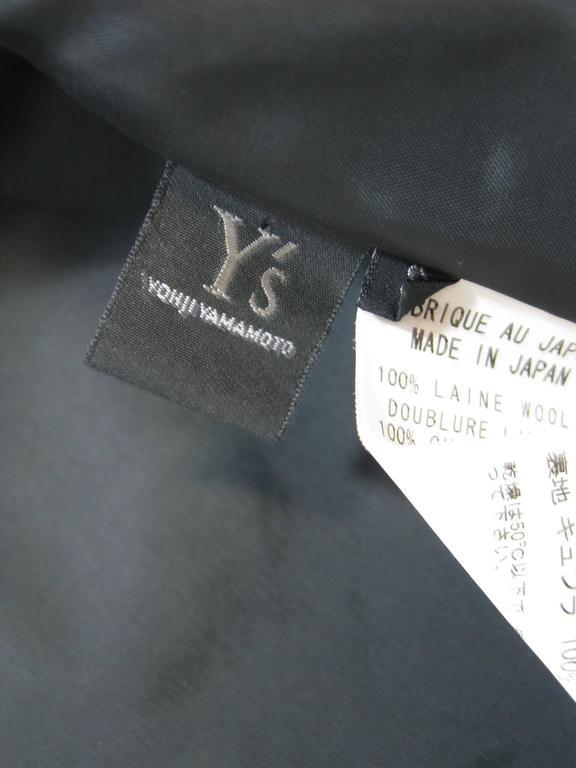 Y's Yohji Yamamoto Black Bomber Jacket 5