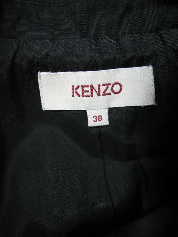 Kenzo Black Embellished Beaded Jacket 8