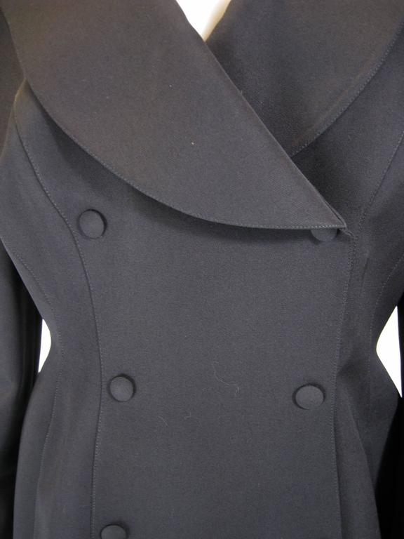 Women's Thierry Mugler Black Suit Jacket For Sale