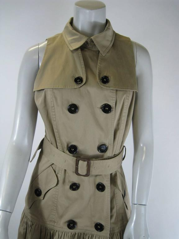 d05c5ed23f5888 Burberry London trench coat dress. Double breasted
