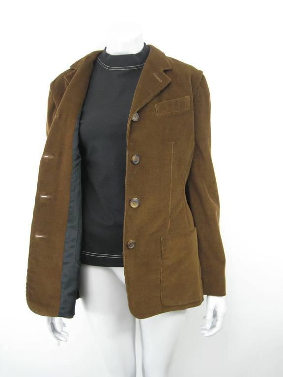 Vintage Jean-Paul Gaultier jacket/shirt/vest 2 piece.